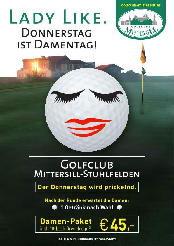 Golf Mittersill Damesdag