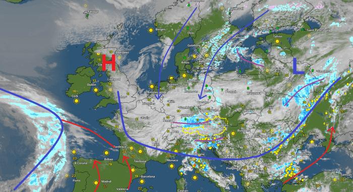 Situatie Europa vandaag om 18:00 uur