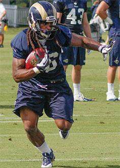 St. Loius Rams running back Daryl Richardson