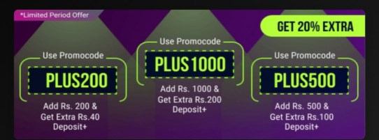 Fantasy Prosports11 Add Money Promo Code and Offer