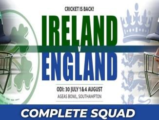 England ODI Squad
