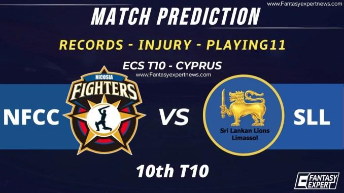 NFCC vs SLL Dream11 Team Prediction