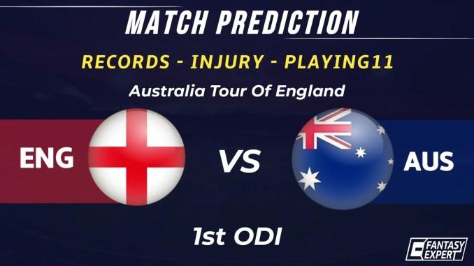 ENG vs AUS Dream11 Team Prediction