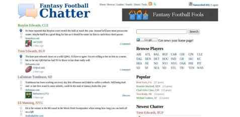 Fantasy Football Chatter