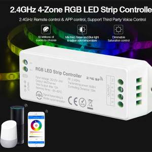 2.4GHz 4-Zone RGB LED Strip Controller