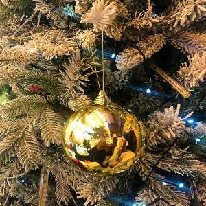 LED Gold Bauble