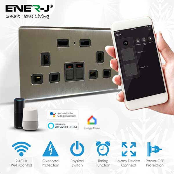 13A-WiFi-Twin-Wall-Sockets-with-2-USB-Ports-Silver 5
