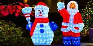 3D Snowmen & Santa