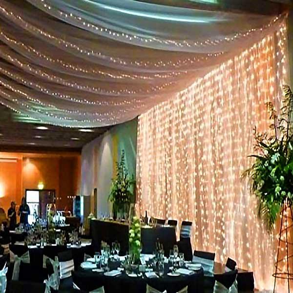 6Mtr LED Curtain Lights