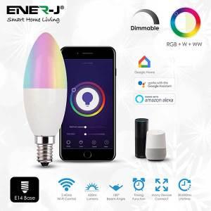 RGB Smart WiFi Candle Bulb 4