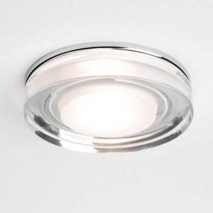 Round Glass Ceiling Light