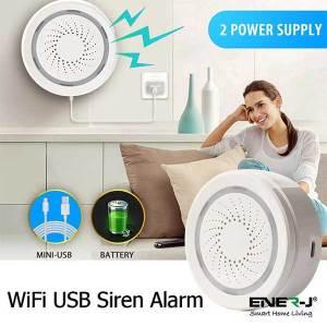 Wifi Siren Alarm Sensor 4