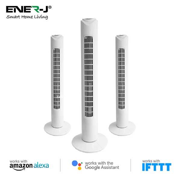 Smart WiFi Tower Fan 3