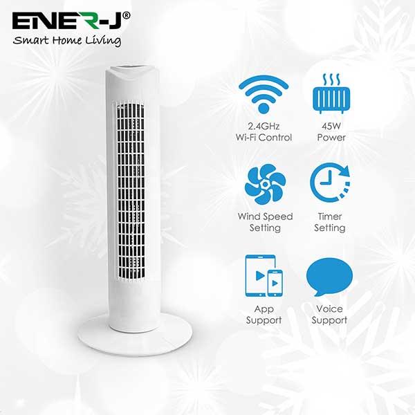 Smart WiFi Tower Fan 4
