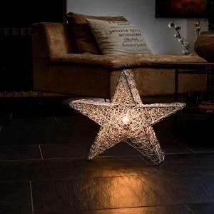 Decorative Silver Star