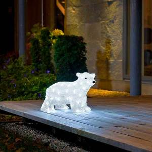 LED Acrylic Polar Bear