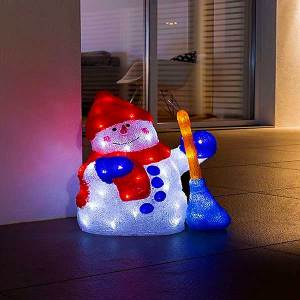 LED Acrylic Snowmen