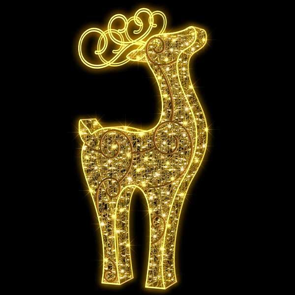 3D Large Reindeer