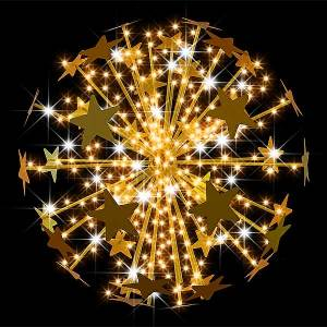 3D Star Burst