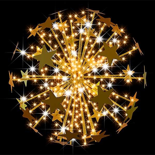 3D Star Burst Feature