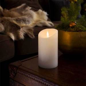 LED Wax Candle White