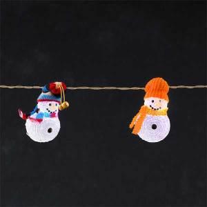 Snowmen Light Set