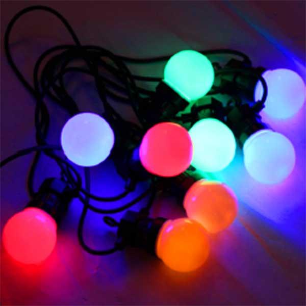 Multicoloured Festoon Lights