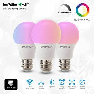 Smart 8.5W LED RGB CCT Changing & Dimmable Lamp