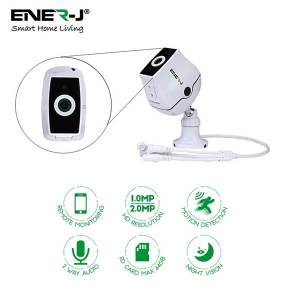 Smart WiFi Indoor IP Camera with Auto Tracker and 2 way audio