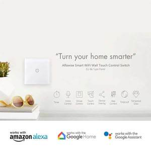 Smart WiFi Touch Switch 3 Gang No Neutral Needed