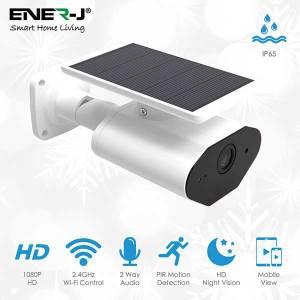 Smart Wireless 1080P Camera with Solar Panel