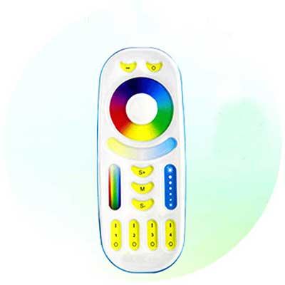 4-Zone-RGB-CCT-Remote-Controller