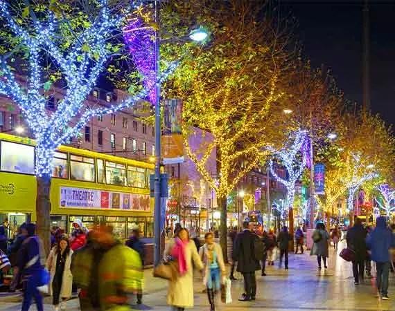 Tree Lighting Dublin Christmas