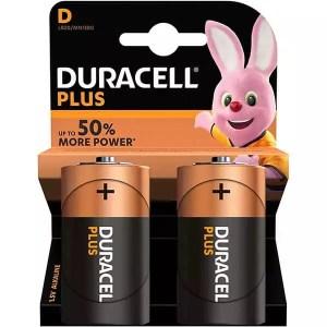 Duracell Plus D Batteries