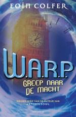 W.A.R.P. 2: Greep naar de macht Boek omslag