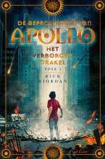 De beproevingen van Apollo 1: Het verborgen orakel Boek omslag