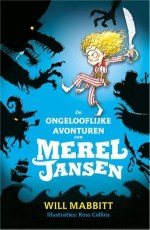 De ongelooflijke avonturen van Merel Jansen Boek omslag
