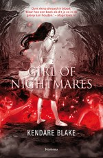 Girl of Nightmares Boek omslag