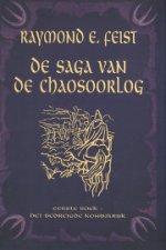 De Saga van de Chaosoorlog 1: Het Bedreigde Koninkrijk Boek omslag
