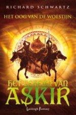 Het Geheim van Askir 3: Het Oog van de Woestijn Boek omslag