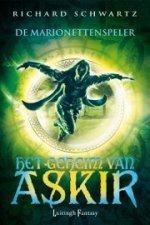 Het Geheim van Askir 4: De Marionettenspeler Boek omslag