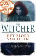 The Witcher 1: Bloed van de Elfen Boek omslag