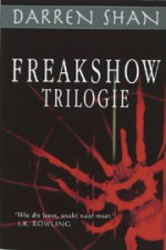 De Freakshow Trilogie Boek omslag