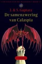 Sage van de Waanzin 1: De Samenzwering van Calaspia Boek omslag