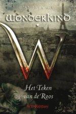 Wonderkind 2: Het Teken van de Roos Boek omslag