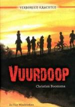 Verborgen krachten 1: Vuurdoop Boek omslag