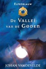 Elfenblauw 2: De vallei van de Goden Boek omslag