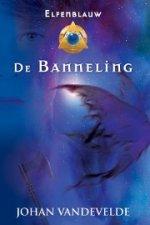 Elfenblauw 3: De Banneling Boek omslag