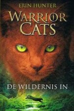 Warrior Cats 1: De wildernis in Boek omslag