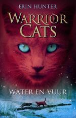 Warrior Cats 2: Water en Vuur Boek omslag